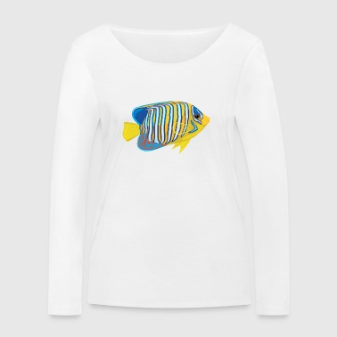 Angelfish - Women's Organic Longsleeve Shirt by Stanley & Stella
