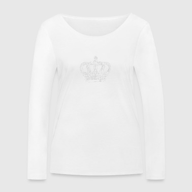 Meme King White - Women's Organic Longsleeve Shirt by Stanley & Stella