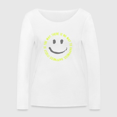 Way to Happiness - Frauen Bio-Langarmshirt von Stanley & Stella