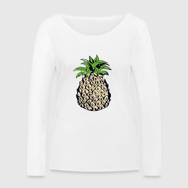 Pineapple - Women's Organic Longsleeve Shirt by Stanley & Stella