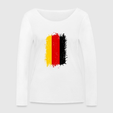 Allemagne - T-shirt manches longues bio Stanley & Stella Femme