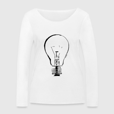 light bulb - Women's Organic Longsleeve Shirt by Stanley & Stella