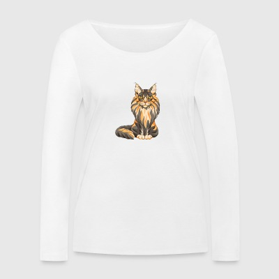 Maine Coon - T-shirt manches longues bio Stanley & Stella Femme
