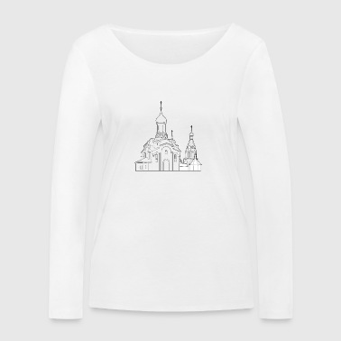 Russian church - Women's Organic Longsleeve Shirt by Stanley & Stella