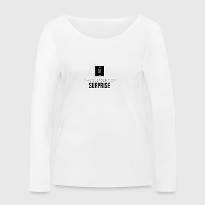 The element of surprise - Women's Organic Longsleeve Shirt by Stanley & Stella