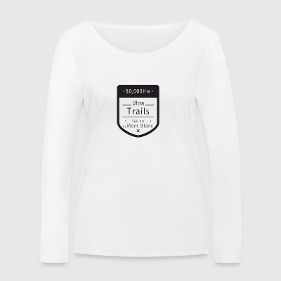 Ultra Trail Mont Blanc T-shirt - T-shirt manches longues bio Stanley & Stella Femme