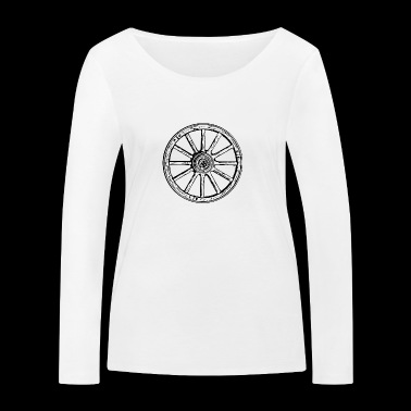 wheel - Women's Organic Longsleeve Shirt by Stanley & Stella