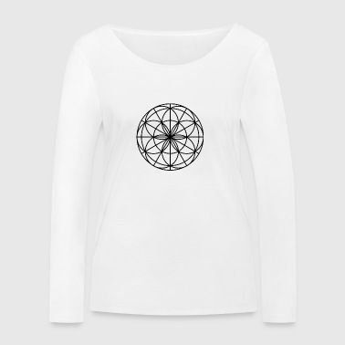 Mandala Spirit light black - Women's Organic Longsleeve Shirt by Stanley & Stella