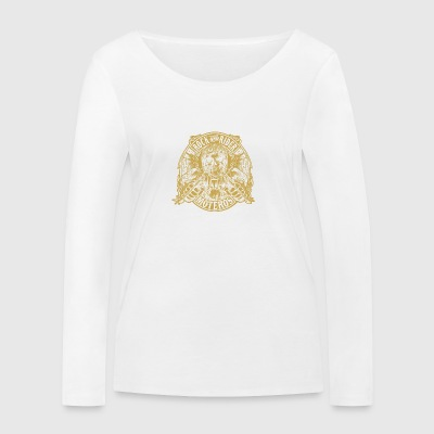 Color_oro_parche_copia_TRANSPARENTE - Women's Organic Longsleeve Shirt by Stanley & Stella