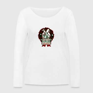 Merry Christmas Advent Bell Ring - Women's Organic Longsleeve Shirt by Stanley & Stella