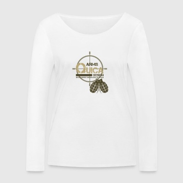 QUICK ARMS LOGO 2 - Women's Organic Longsleeve Shirt by Stanley & Stella