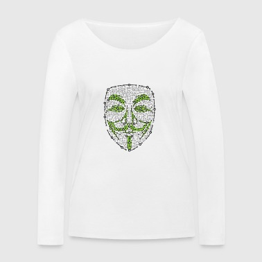 Digital Anonymous Version 01 - Ekologisk långärmad T-shirt dam från Stanley & Stella