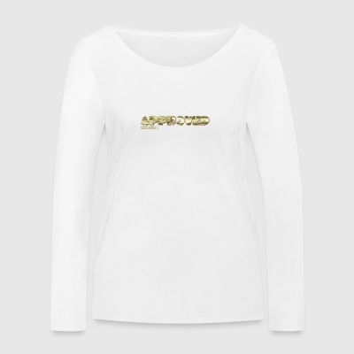 APPROVED Official GOLD BAR - Women's Organic Longsleeve Shirt by Stanley & Stella