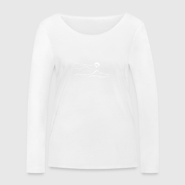 Panorama flight - Women's Organic Longsleeve Shirt by Stanley & Stella
