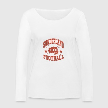 Sunderland Football Fan - Women's Organic Longsleeve Shirt by Stanley & Stella