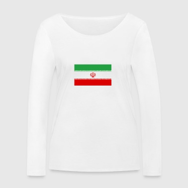 National Flag Of Iran - Women's Organic Longsleeve Shirt by Stanley & Stella