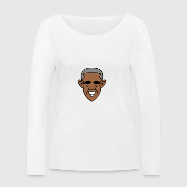 Thanks, Obama! - Women's Organic Longsleeve Shirt by Stanley & Stella