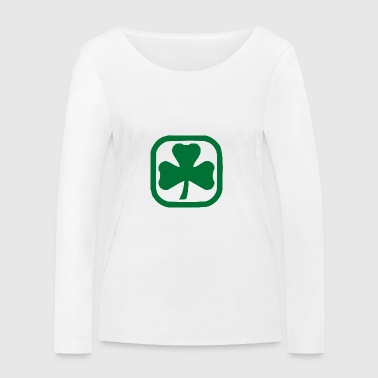 Irish Shamrock - Women's Organic Longsleeve Shirt by Stanley & Stella