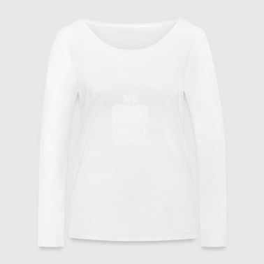 Hockey field - Women's Organic Longsleeve Shirt by Stanley & Stella