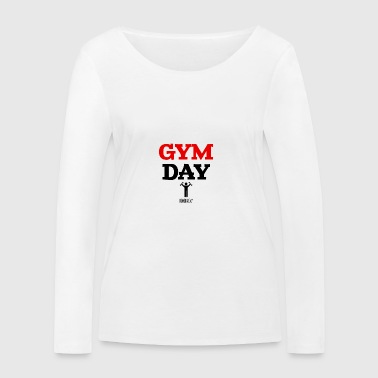 Gym Day Tomorrow - Økologisk Stanley & Stella langærmet T-shirt til damer