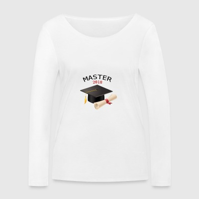 CLOSING MASTER 2018 - Women's Organic Longsleeve Shirt by Stanley & Stella