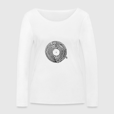 dissolved turntable - Women's Organic Longsleeve Shirt by Stanley & Stella
