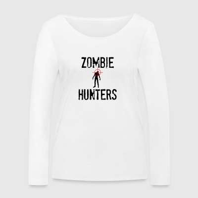 Zombie: Zombie Hunters - T-shirt manches longues bio Stanley & Stella Femme