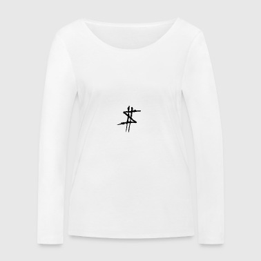 DOLLAR SIGN LOGO - Women's Organic Longsleeve Shirt by Stanley & Stella