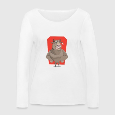 SWAGG BULL - T-shirt manches longues bio Stanley & Stella Femme