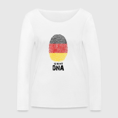 Germany flag - Made in Germany - gift - Women's Organic Longsleeve Shirt by Stanley & Stella
