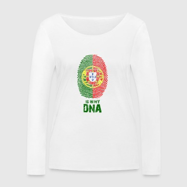 Portugal flag - Made in Portugal - gift - Women's Organic Longsleeve Shirt by Stanley & Stella
