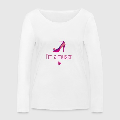 muser Highheels clip rose lol gir chaussure app - T-shirt manches longues bio Stanley & Stella Femme
