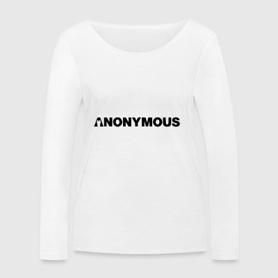 Anonymous - We are legion - Expect us - Shirt - Frauen Bio-Langarmshirt von Stanley & Stella