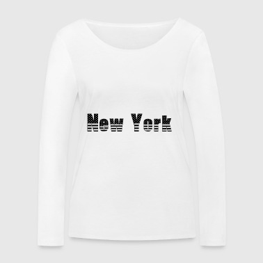 New-York - T-shirt manches longues bio Stanley & Stella Femme