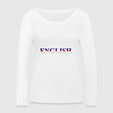 mot Inglese - T-shirt manches longues bio Stanley & Stella Femme