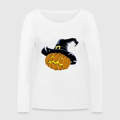 JACK THE HALLOWEEN CITROUILLE - Women's Organic Longsleeve Shirt by Stanley & Stella
