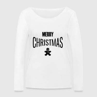 MERRY CHRISTMAS - Women's Organic Longsleeve Shirt by Stanley & Stella