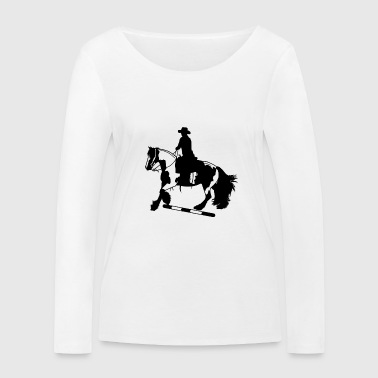 Tinker galop I Stange - T-shirt manches longues bio Stanley & Stella Femme