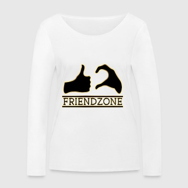 Friend Zone d'or ami poison Love Love Love - T-shirt manches longues bio Stanley & Stella Femme