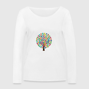 puzzletree - Women's Organic Longsleeve Shirt by Stanley & Stella