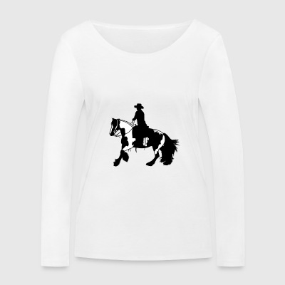 Tinker galop - T-shirt manches longues bio Stanley & Stella Femme