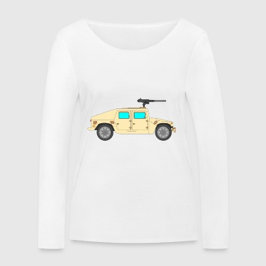 Military vehicle - Women's Organic Longsleeve Shirt by Stanley & Stella