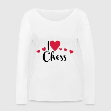 2541614 15899810 chess - Women's Organic Longsleeve Shirt by Stanley & Stella