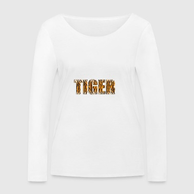 logo Tiger - T-shirt manches longues bio Stanley & Stella Femme
