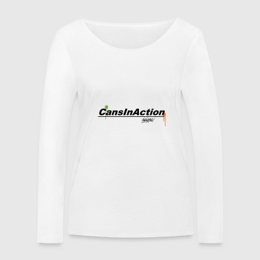 CansInAction Cloud # 1 - Women's Organic Longsleeve Shirt by Stanley & Stella