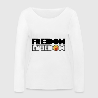 FREEDOM CATALONIA (RED EDITION) - Women's Organic Longsleeve Shirt by Stanley & Stella