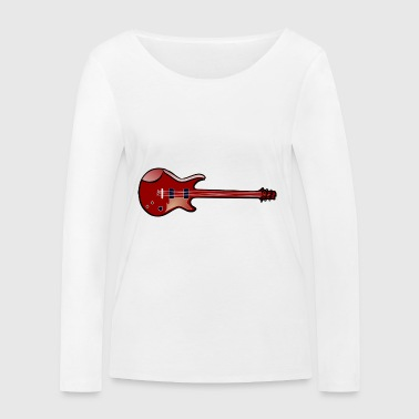 Guitare basse - T-shirt manches longues bio Stanley & Stella Femme