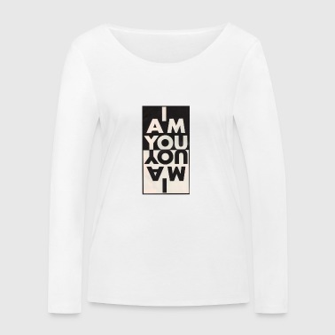 iamyou - T-shirt manches longues bio Stanley & Stella Femme
