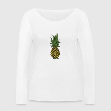 ananas - T-shirt manches longues bio Stanley & Stella Femme