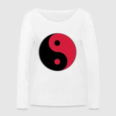 Yin and yang - Women's Organic Longsleeve Shirt by Stanley & Stella